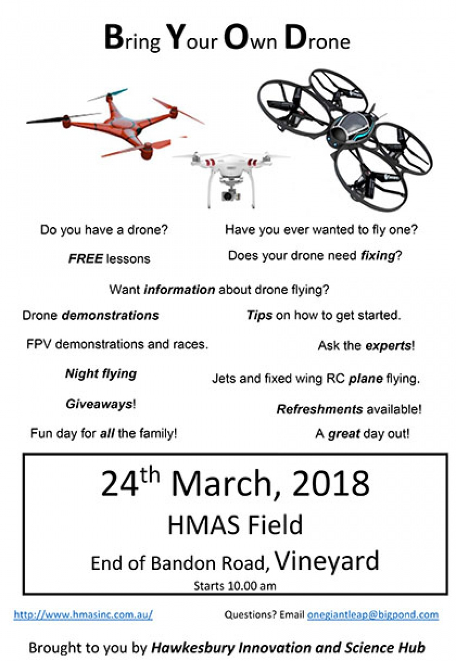 Bring your own Drone Day